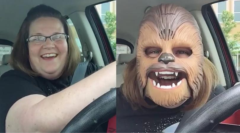 Chewbacca Mom - Candace Payne
